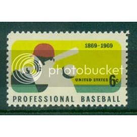1381 6c Baseball Fine MNH Plt/4 UR 31402 Plt13338
