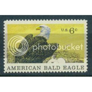 1387 6c American Bald Eagle Fine MNH