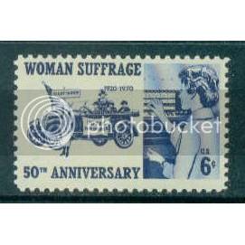 1406 6c Suffrage Fine MNH Plt/4 LL 32194 Plt08928