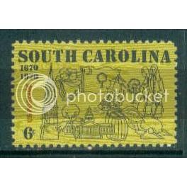 1407 6c South Carolina Fine MNH Plt/4 LL 32029 Plt03813