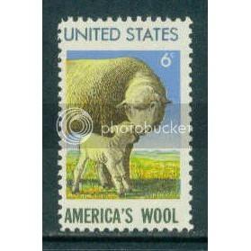 1423 6c Wool Industry Just Clears MNH Plt/4 UR 32492 Plt1145