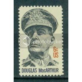 1424 6c MacArthur Fine MNH Plt/4 LR 32301 Plt06455