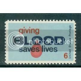 1425 6c Blood Donors Fine MNH Plt/4 LL 32603 Plt13166
