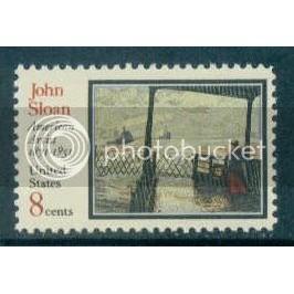 1433 8c Sloan Fine MNH Plt/4 LR 33125 Plt17885