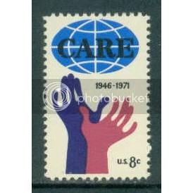 1439 8c Care Fine MNH