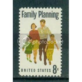 1455 8c Family Planning Fine MNH Plt/4 LL 33386 Plt13374