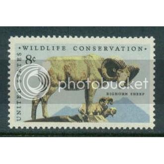 1467 8c Bighorn Sheep Fine MNH