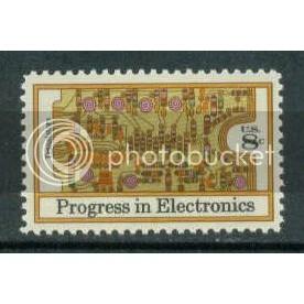 1501 8c Electronics Fine MNH Plt/4 LL 34233 Plt09016