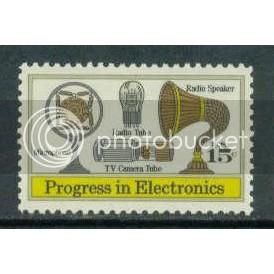 1502 15c Electronics Fine MNH Zip Blk/4/4 UR Plt09019