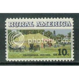 1505 10c Chautauqua Tent Fine MNH Plt/4 LL 35498 Plt15397