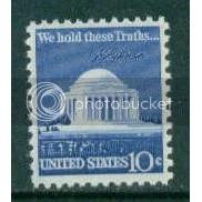 1510 10c Jefferson Memorial Fine MNH Plt/4 UR 34594 Plt00276