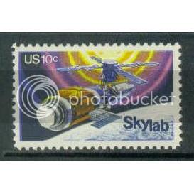 1529 10c Skylab Fine MNH Plt/4 LL 35214 Plt06557