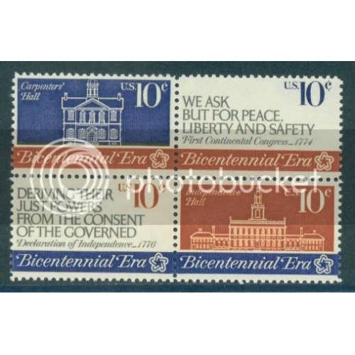 1543-1546 10c Congress Fine MNH Plt/4 UR 35336 Plt10444