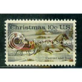 1551 10c Christmas Fine MNH Plt/20 UL 35408-13 PltL5128