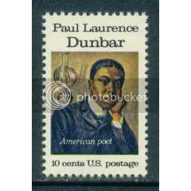 1554 10cPaul Dunbar MNH Sht/50 LL 36027-31 Sht070-1