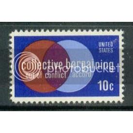 1558 10c Bargaining Fine MNH Plt/8 UL 35583-86 PltL5141