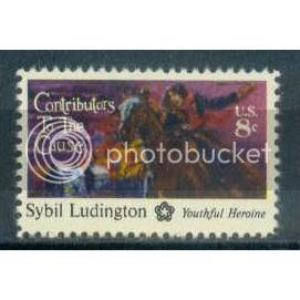 15598cSybil Ludington Sht/50 LL 33722-26 Sht454-1