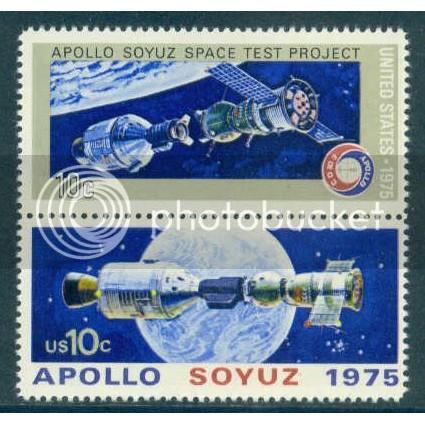 1570-1569 10c Apollo-Soyuz Fine MNH