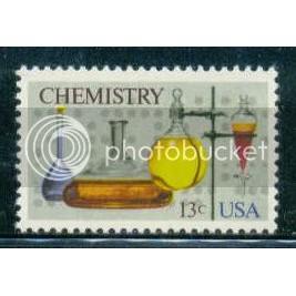 1685 13c Chemistry Fine MNH Plt/12 UR 36963-68 PltL14040