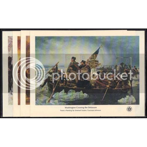 1686-1689 (4) Bicentennial MNH Shts Sht2189