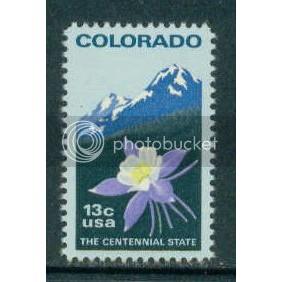 1711 13c Colorado Fine MNH Plt/20 LL 37956-61 PltL5252