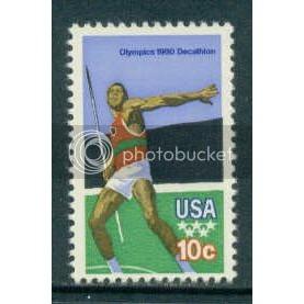 1790 10c Olympics Fine MNH Plt/12 UL 39111-16 PltL11891