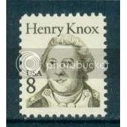 1851 8c Knox Fine MNH