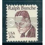 1860 20c Bunche Fine MNH Dry Gum Plt/4 LR 6 Plt1729