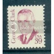 1867 39c Clark Fine MNH Dry Gum Plt/20 LL 2 PltL14145