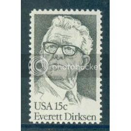 1874 15c Dirksen Fine MNH