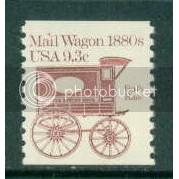 1903 9.3c Mail Wagon Fine MNH Dry Gum