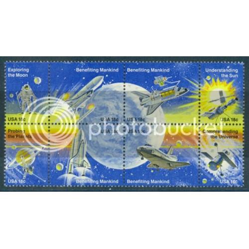 1912-1919 18c Space Fine MNH Plt/16 UR 222222 PltL5419