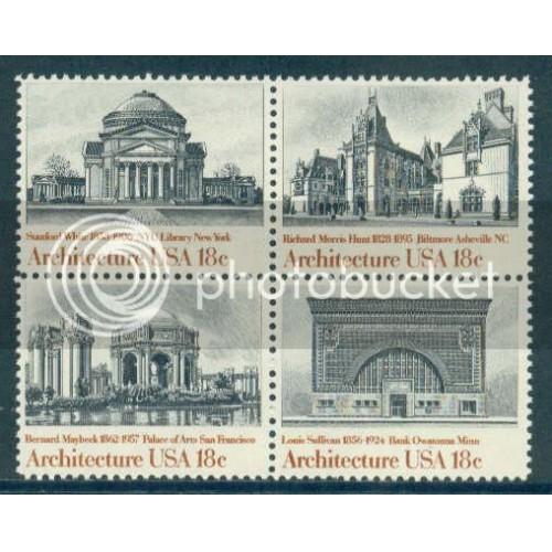 1928-1931 18c Architecture Fine MNH Z3039