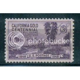 954 3c California Gold Fine MNH Plt/4 LR 23777 Plt07831