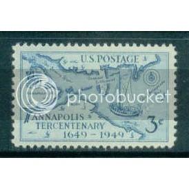 984 3c Annapolis Fine MNH Plt/4 UL 24095 Plt07908