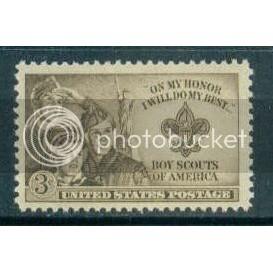 995 3c Boy Scouts Fine MNH Plt/4 UR 24230 Plt07945
