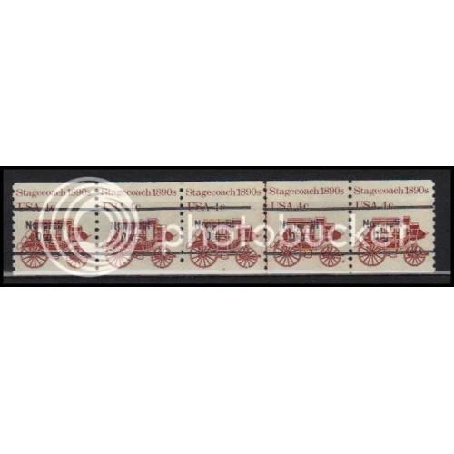 1898Ab Very Fine MNH Dry Gum PNC 5/5 Line Gap AA0016