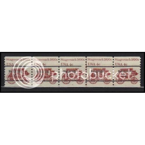 1898Ab Very Fine MNH Dry Gum PNC 5/5 Line Gap AA0026