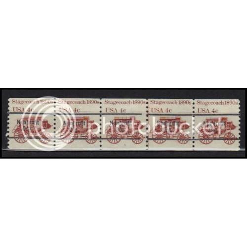 1898Ab Fine MNH Dry Gum PNC 5/5 Line Gap AA0055