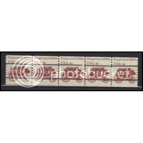 1898Ab Fine MNH Dry Gum PNC 6/5 Line Gap AA0091