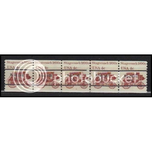 1898Ab Fine MNH Dry Gum PNC 6/5 Line Gap AA0097