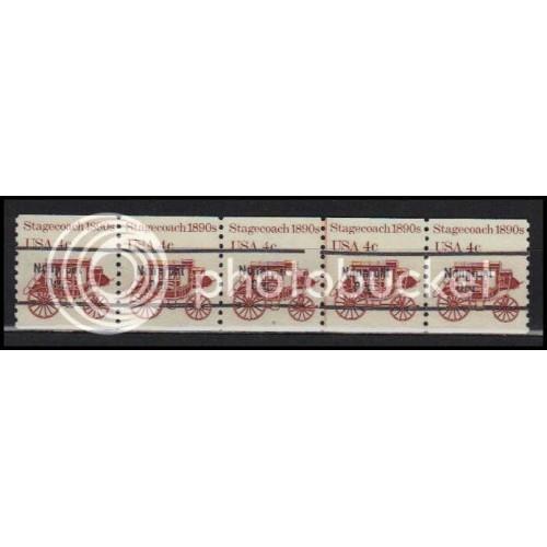 1898Ab Fine MNH Dry Gum PNC 6/5 Line Gap AA0100