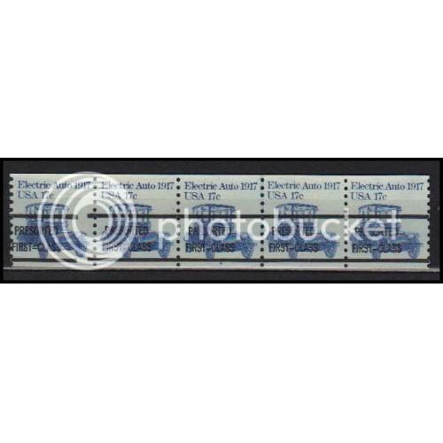 1906a Very Fine MNH Dry Gum PNC 4A/5 Gap 2L AA0188