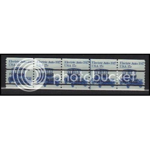 1906av Fine MNH Dry Gum PNC 4A/5 Gap 2L AA0191
