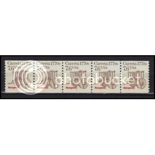 2255 Very Fine MNH Dry Gum PNC 1/5 AA0480