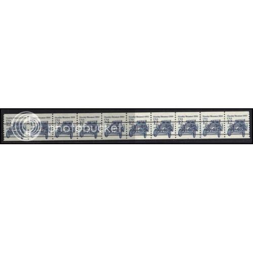 2132a Very Fine MNH Dry Gum PNC 1/8+2 Gap 4L AAL0721