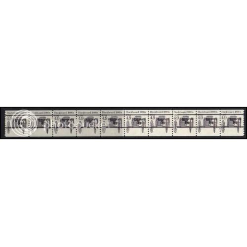 2124a Fine MNH Dry Gum PNC 1/10 Gap 2R AAL0918