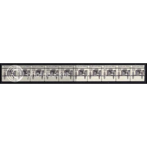 2124a Fine MNH Dry Gum PNC 1/10 Gap 2R AAL0944