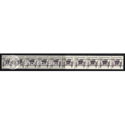 2124a Fine MNH Dry Gum PNC 2/10 Gap 1R AAL0970