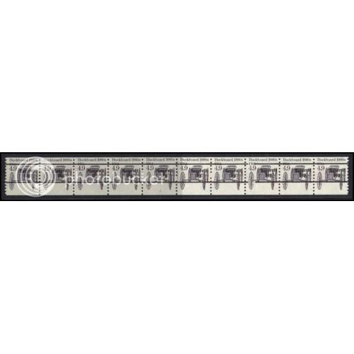 2124a Fine MNH Dry Gum PNC 2/10 Gap 2R AAL0975